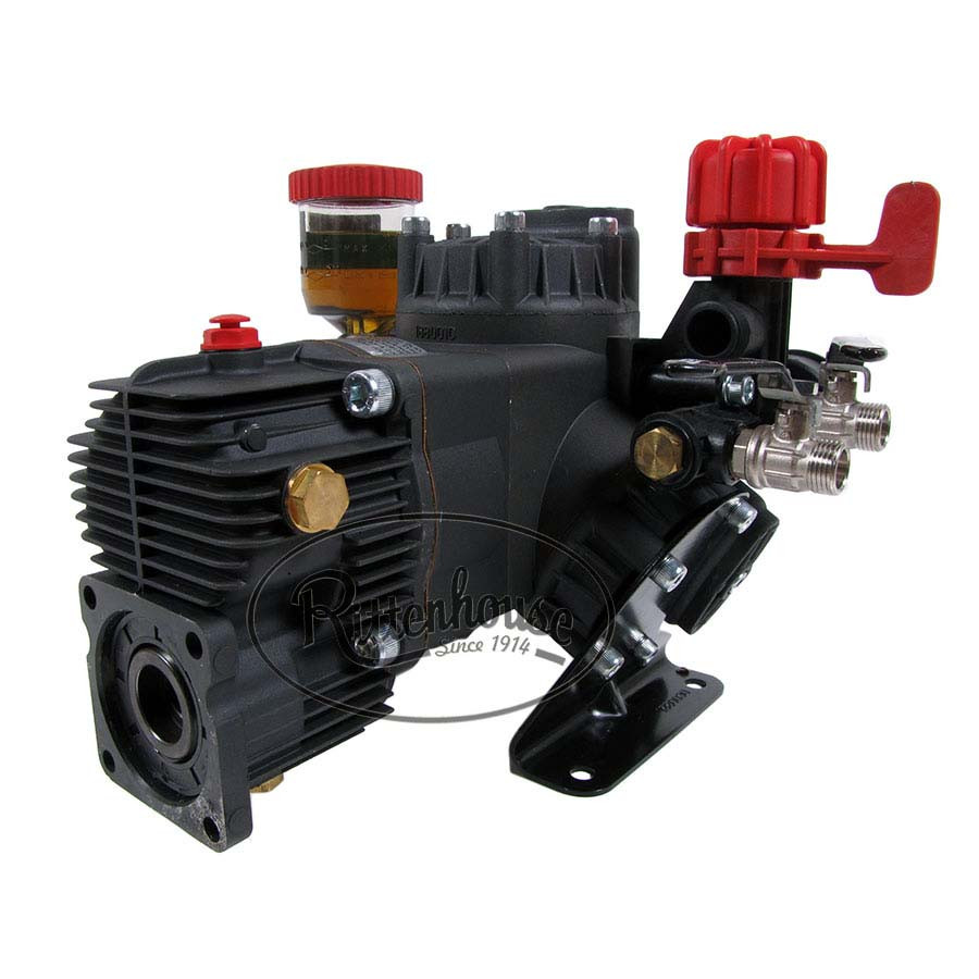Hypro d403grgi diaphragm pump includes a gearbox 9910 kit1640 and pressure regulator 9910 gr40 ccuart Gallery