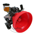 The Hypro D813 Diaphragm Pump with maximum 21.4 GPM and 725 PSI.