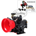 Includes a Pressure Regulator (9910-VDR50) and a Gearbox (9910-KIT1642).
