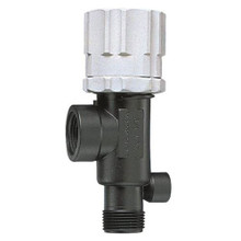 "TeeJet 23120-3/4-PP Regulator with 3/4"" male and 3/4"" female pipe thread connections."