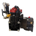 """Pressure Regulator and Gearbox for attaching to a 5.5 HP gas engine with 3/4"""" shaft included to enhance your spraying operations."""