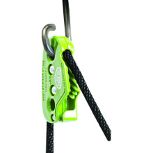 "Each pack includes a lock and release, two hooks, and 10' of 3/8"" diameter solid braid polypropylene rope."