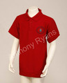Scoil Mhuire Clarinbridge Red Crested Polo Shirt