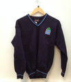 Presentation College Headford Crested Navy Jumper
