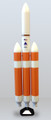 1/120th  Scale Delta IV Heavy Model