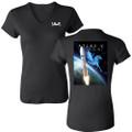 NROL-67  Women's V-Neck Bella Fitted T-shirt