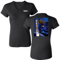 AFSPC-6 Women's V-Neck Bella Fitted T-shirt