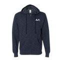Independent Trading Co. - Baja Stripe French Terry Hooded Full-Zip Sweatshirt