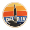 Delta IV Sticker - Package of 5