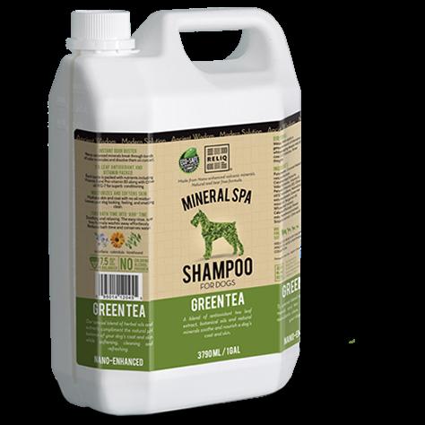 RELIQ Mineral SPA Shampoo for dogs (Green Tea)