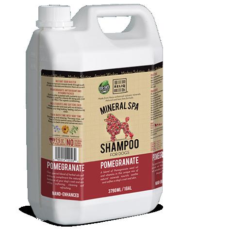 RELIQ Mineral SPA Shampoo for dogs (Pomegranate)