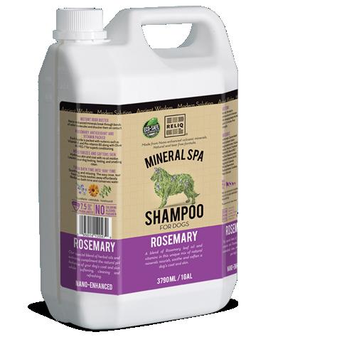 RELIQ Mineral SPA Shampoo for dogs (Rosemary)