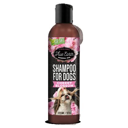 True Earth Mineral SPA shampoo Cherry Blossom 10 oz / 300 ml