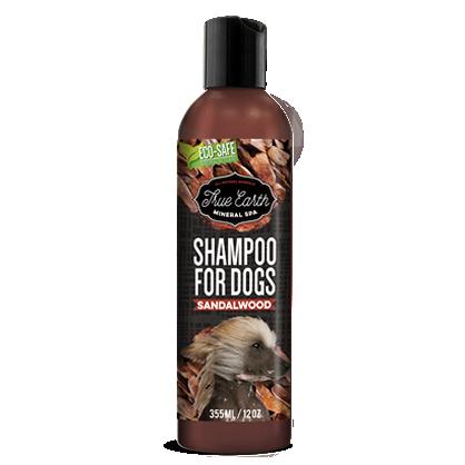 True Earth Mineral SPA shampoo Sandalwood 10 oz / 300 ml