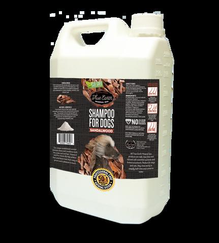 True Earth Mineral SPA shampoo Sandalwood 1 gallon / 3790ml