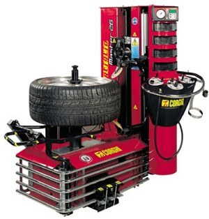 Touchless Tire Changer from Corghi