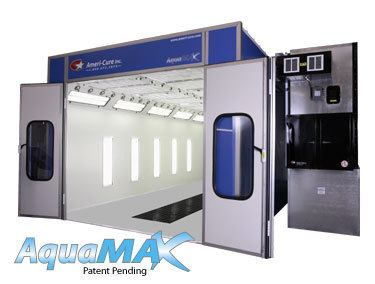 Ameri-cure Aquamax Full Downdraft Paint Booth