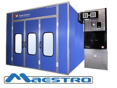 Ameri-cure Maestro Full Downdraft Paint Booth