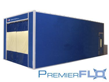 Ameri-cure PremierFLO Open Front Paint Booth