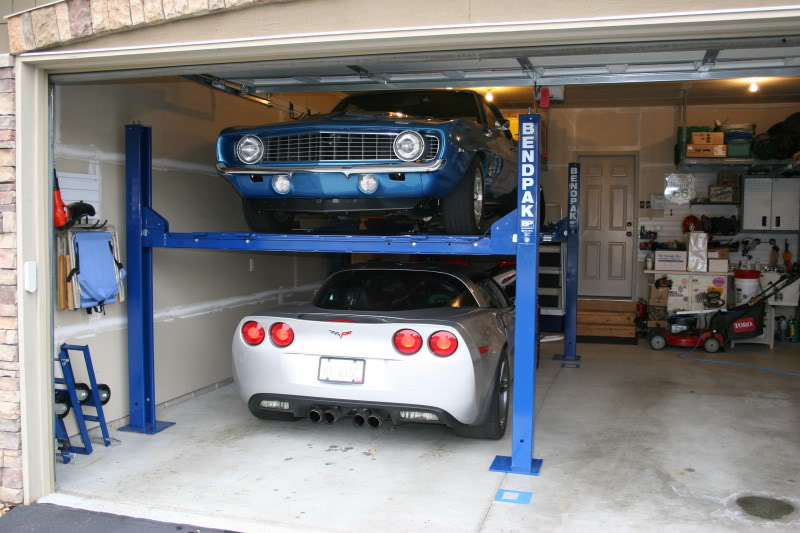 What does it cost to put a lift in your garage jmc for Garage low cost auto