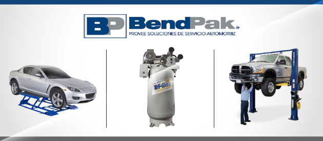 Bendpak Products Page
