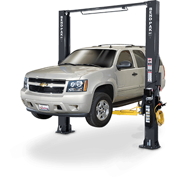 Bendpak XPR-10S 10,000 Lb Symmetric Clear Floor Two Post Lift