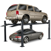 Bendpak Hd-7W 7,000 Lb Extra Wide, Extra Tall 4 Post Car Lift