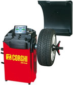 Corghi EM7240 Electronic Wheel Balancer with Display