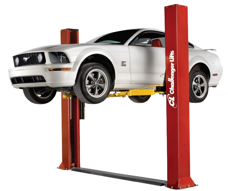 10000 Lb Car Lift >> Challenger CLFP9 Two Post Floorplate Car Lift
