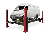 Challenger Lifts 4015EFX Closed Front 15,000 Lbs Four Post Car Lift