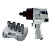"Ingersoll Rand 261 3/4"" Drive Super Duty Air Impact Wrench w/ FREE 8 Pc. 3/4"" Dr. Deep Impact Socket Set (261XS)"