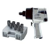 "Ingersoll Rand 261 3/4"" Drive Super Duty Air Impact Wrench w/ FREE 8 Pc. 3/4"" Dr. Deep Impact Socket Set (261XS)"