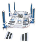 Signature Hybrid 20' Three Tower Frame Machine - 2 Main And 1 Roller