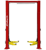 Challenger CL-12-2 2-Post Symmetrical Lift With 3-Stage Front And Rear Arms With 2' Column Height Extension
