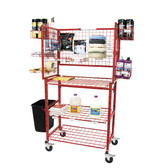Innovative I-Mcdc  Mobile Detailer Materials Supply Cart