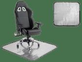 Pitstop Diamond Plate Chair Mat