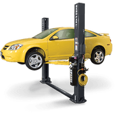 Bendpak XPR-9S-LP Low-Profile Arms, Dual-Width, 9,000 Lb. Capacity, Floor Plate, Chain-Over, Short Lift