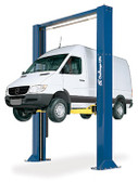 Challenger Lifts 15002-3S Symmetric Heavy Duty 15,000 Lbs Two Post Lift w/ 3-stage Front and Rear Arms.