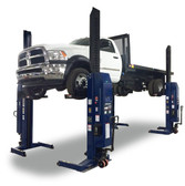 Challenger Lifts CLHM-185W-4 74,000 lbs. Capacity Heavy Duty Mobile Column Lift - No Max Wheel Diameter