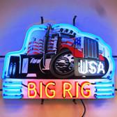 Neonetics 5BGRIG Big Rig Truck Neon Sign