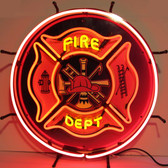 Neonetics 5FIRED Fire Department Neon Sign