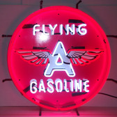 Neonetics 5GSFLY Gas - Flying A Gasoline Neon Sign