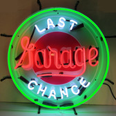 Neonetics 5LASTX Gas - Last Chance Garage Neon Sign