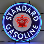 Neonetics 5STAND Gas - Standard Gasoline Neon Sign With Backing