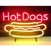 Neonetics 5HOTDG Hot Dog Neon Sign