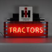 Neonetics 9ADIHT Art Deco Marquee Ih Tractors Neon Sign In Steel Can