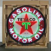 Neonetics 9TXOIL Texaco Motor Oil 36 Inch Neon Sign In Metal Can