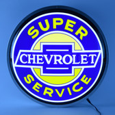 Neonetics 7CHEVS Super Chevrolet Service 15 Inch Backlit Led Lighted Sign