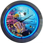 Neonetics 8AQUAX Aquarium Neon Clock