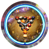 Neonetics 8SPBAL Billiards Spaceballs Neon Clock